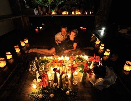 ideas para sorprender a tu pareja cena romantica
