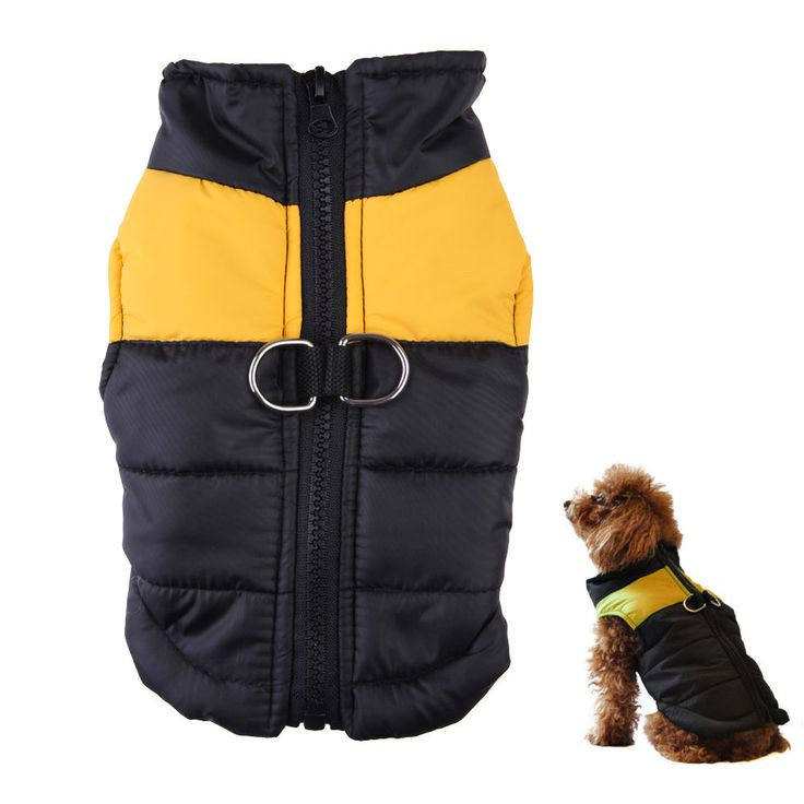 New Winter Warm Pet Dog Clothes Small Waterproof Dog Coat Jacket Winter Quilted Padded Puffer Pet Clothes