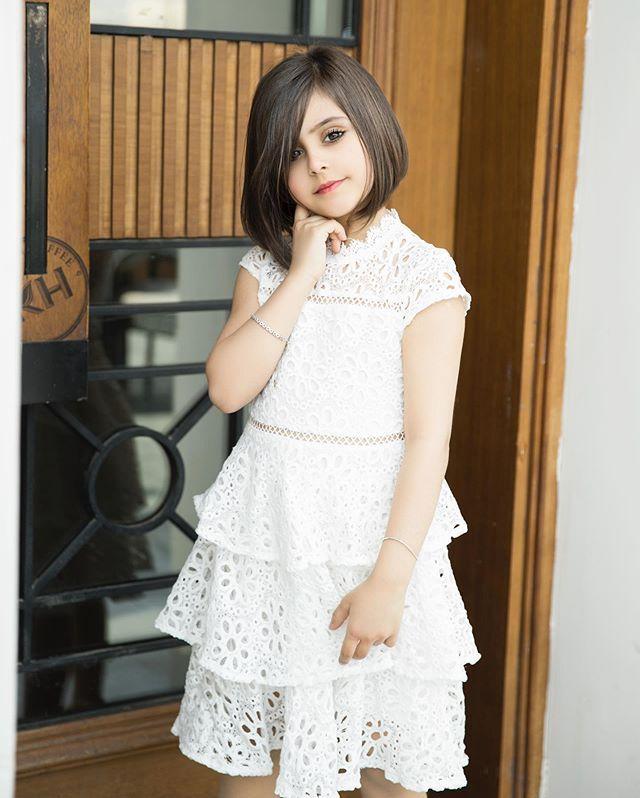 غاده السحيم In 2020 Flower Girl Dresses Short Sleeve Dresses Dresses With Sleeves