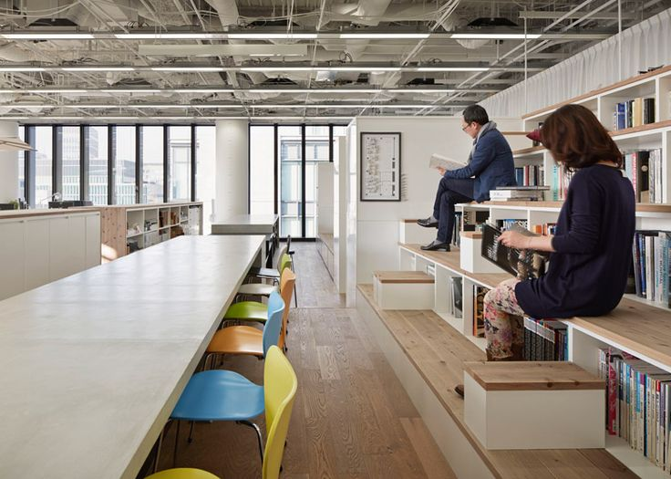 17 best images about tiered seating on pinterest offices for Japanese office interior design