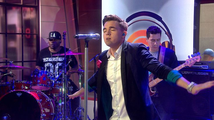 Jesse McCartney performs 'Superbad' on TODAY