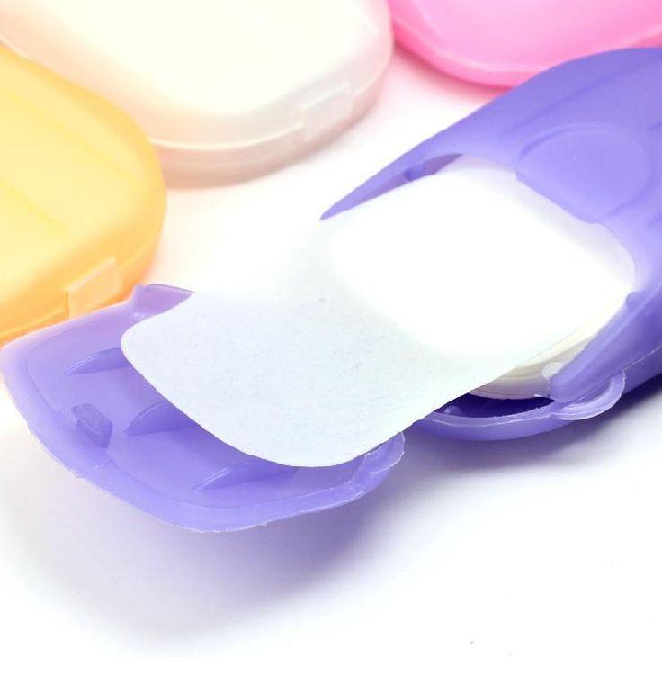 Новый 20 лист(ов) путешествия портативный здравоохранение отбеливания и отшелушивающие чистым для мытья рук бумажные листья с чехол купить на AliExpress