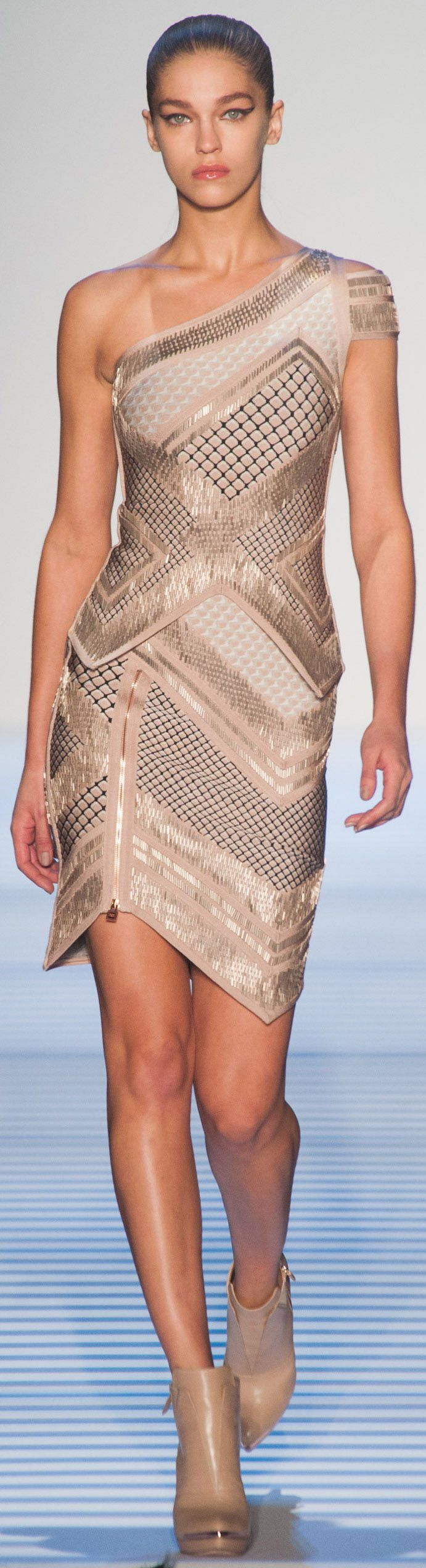 Herve Leger Autumn (Fall) / Winter 2014