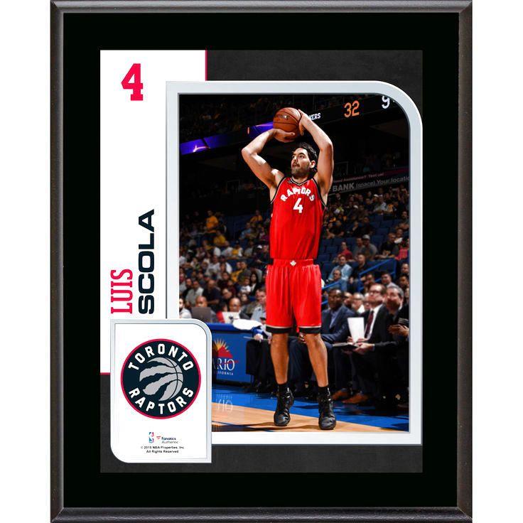 """Luis Scola Toronto Raptors Fanatics Authentic 10.5"""" x 13"""" Sublimated Player Plaque - $23.99"""