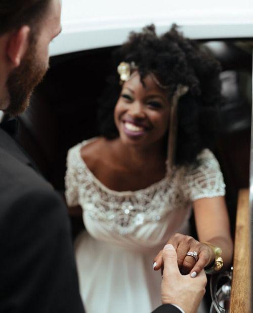 CurlsUnderstood.com: Natural hair bride