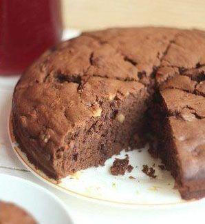 Шоколадный кекс на вине ― рецепт на Zapikanka.com.ua