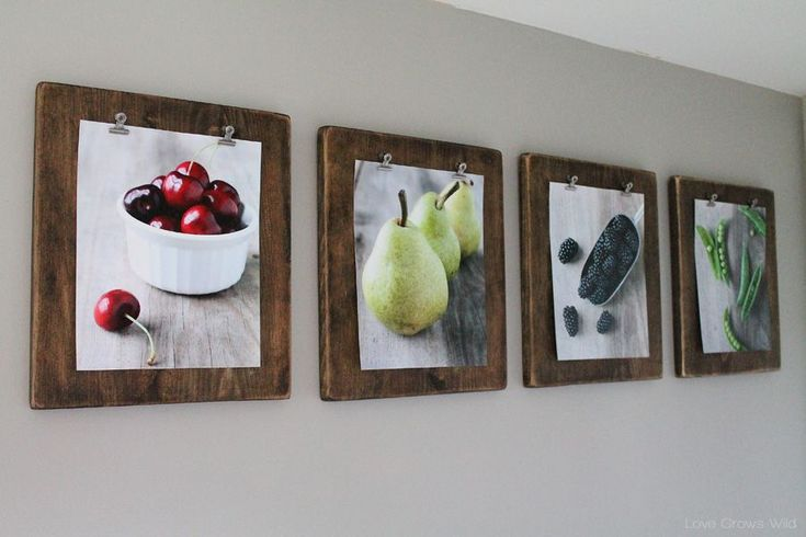 7 DIY clipboard picture holder