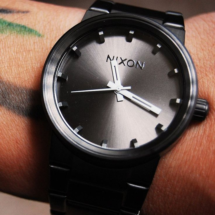 The Cannon Watch by Nixon, Nixon is a good watch brand