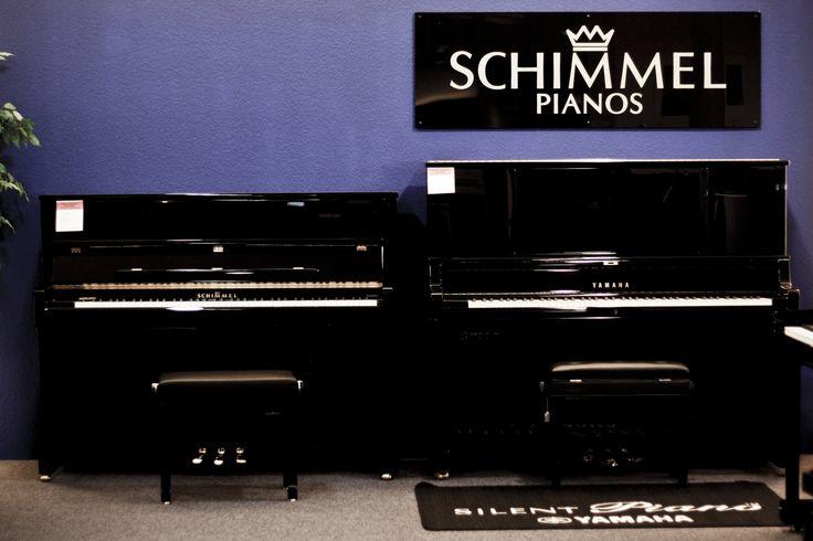 Hochwertige Klavierbaukunst der Marke Schimmel.