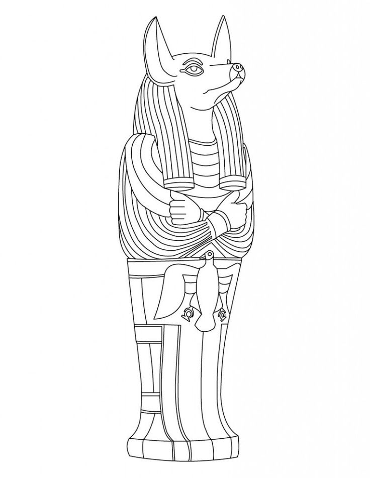 Ancient Egypt Coloring Pages Egyptian Coloring Pages For