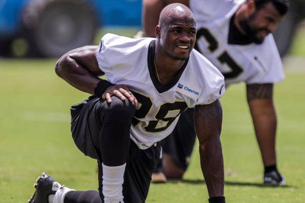 Adrian Peterson Shares Why He Choose To Sign With The New Orleans Saints