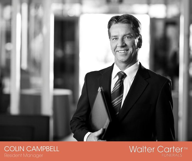 Colin Campbell is a Resident Manager at Walter Carter Funerals.