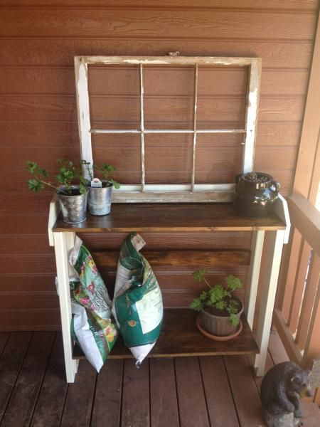 Potting Table   Do It Yourself Home Projects from Ana White