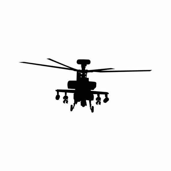 Apache Helicopter Graphic Instant Download 1 Vector Eps 1 Etsy In 2021 Dog Wall Art Apache Graphic