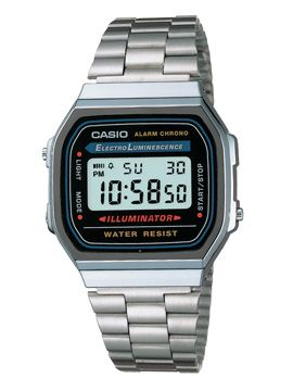 Casio Silver Digital Watch, don't know but it remains me of my childhood this type of watch