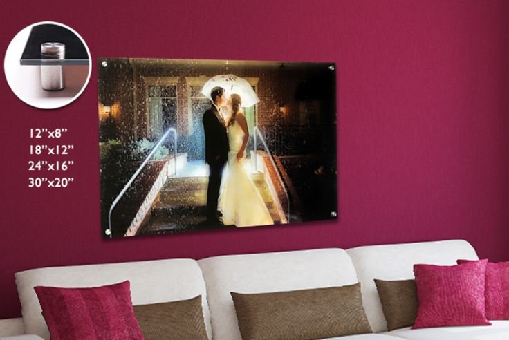 Personalised Glass Print - 4 Sizes!