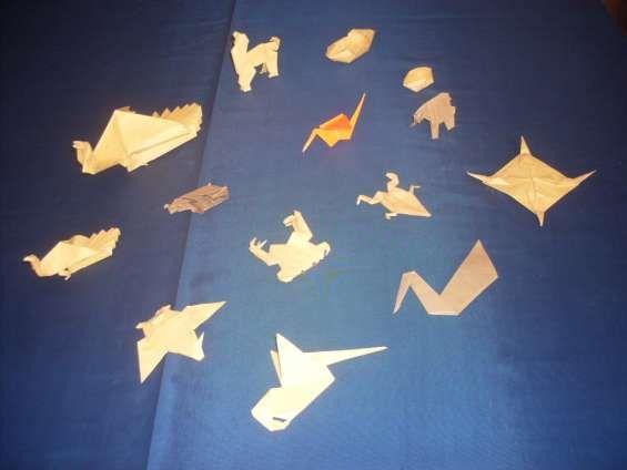 Origami doblado de papel arte japones