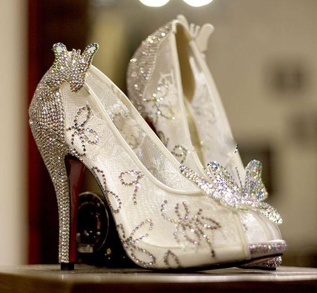 1000+ ideas about Cinderella Wedding Shoes on Pinterest ...