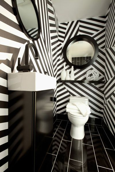 This wallpaper by @Christian Wilsson Wilsson may is AMAZING. Considering it for my bathroom... for realz. Wallpaper designed by Christian May in collaboration with black crow studios; photo by john ellis.