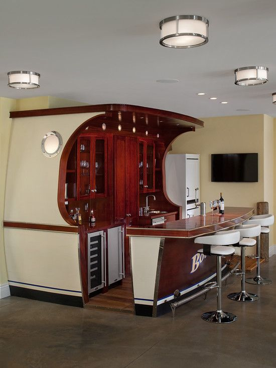 Boat Bar - so awesome for future home!
