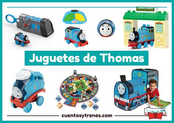 ¿Conoces todos los juguetes de Thomas y sus amigos? Trenes, juegos de mesa, bloques de construcción, juguetes para el baño