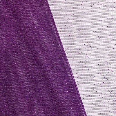 Shop  Plum Glitter Tulle Fabric at onlinefabricstore.net for $3.7/ Yard. Best Price & Service.