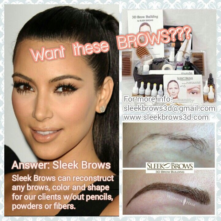 Brow extensions ... Sleek Brows 3d Www.sleekbrows3d.com Www.facebook.com/sleekbrows3d Www.instagram.com/sleekbrows3d