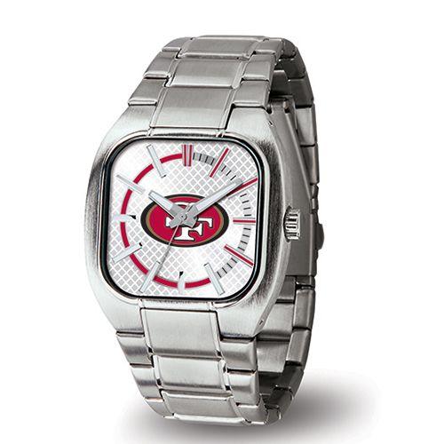 Mens Sparo NFL 49ers Turbo Watch WTTUR1901 Silver