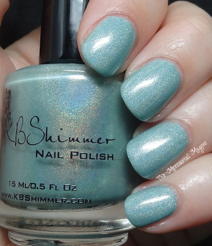 KBShimmer Mint-al Vacation - WANT WANT WANT!