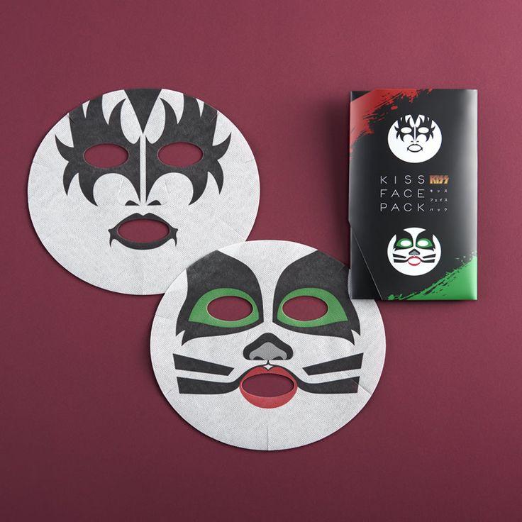 KISSフェイスパック 〔ジーン・シモンズ&エリック・シンガー〕 | フェイスパック | | 東京 半蔵門 一心堂本舗