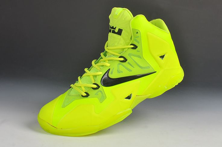 new style 67537 79158 lebron james lime green shoes