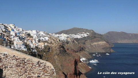 Croisière en Grèce #3 : Escale sur l'île de Santorin