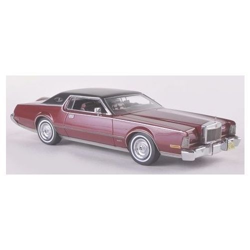 lincoln continental mark iv red metallic 1973 neo 1 43 resin diecast 45566 neo scale. Black Bedroom Furniture Sets. Home Design Ideas