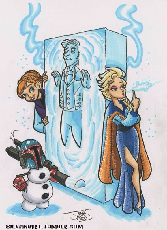 Frozen + Star Wars!