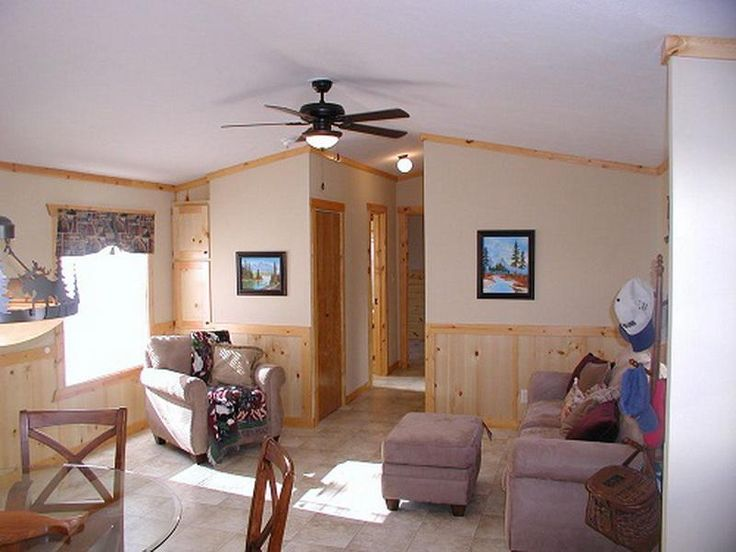 Living room single wide mobile home floor plans ranch manufactured and mobile homes for Decorating ideas for mobile home living rooms