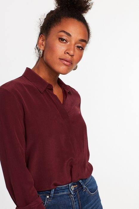 Elina silkeskjorte 399.00 DKK, Skjorter - Gina Tricot