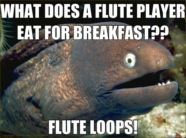 Ahh! My Flute Loops! @Ally Squires Squires Hezel :D This is so our section!