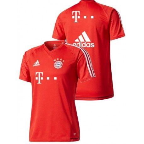 Maillot Bayern Entrainement 2017/2018 Officiel. Flocages Personnalisés Disponibles.