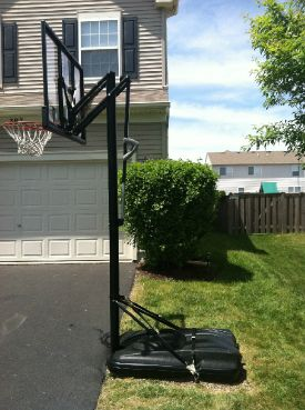 New Product To Anchor Your Portable Basketball Hoop...no More Worrying  About It