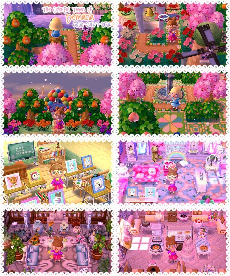 17 Best Images About Acnl Town Inspo/guides On Pinterest