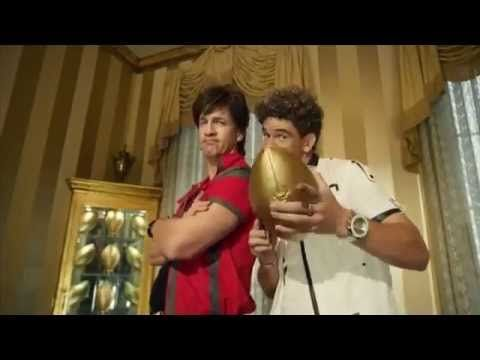 ▶ Peyton and Eli Manning Rap Video!! DirectTV AD!! - YouTube ~ Hilarious