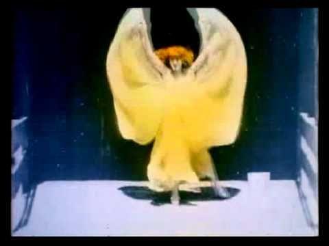 1st Hand-Tinted Movie - Annabelle Serpentine Dance (1895) - W.K.L. Dickson | Thomas Edison