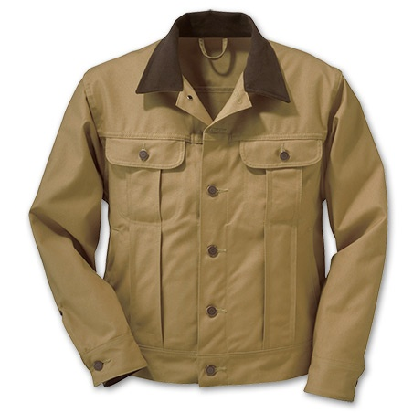 Filson Dry Finish Tin Cloth Ranch Jacket - Unlined $200