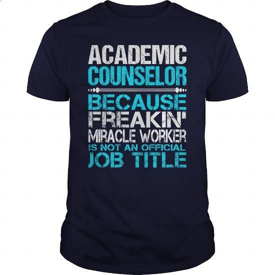 Awesome Tee For Academic Counselor - design a shirt #shirt maker #army t shirts