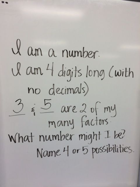 If you have 3 or 4 minutes left in class, this works very well for middle and hi…