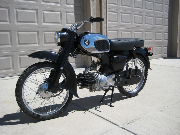 1965 Honda C200 90cc OHV engine with 4spd transmission ...