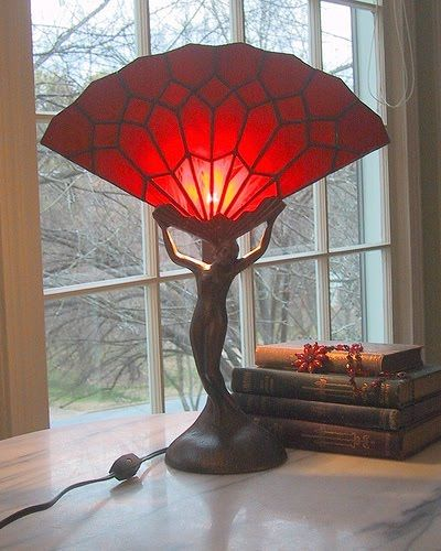 Art Deco Design fan lamp