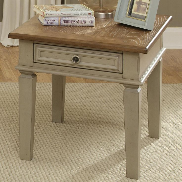 Bungalow End Table W Drawer By Liberty Furniture