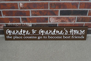 DIY sign for Grandma and Grandpa: Signs, Diy'S, Gift Ideas, Christmas, Gifts, New Grandparents, Design, Crafts