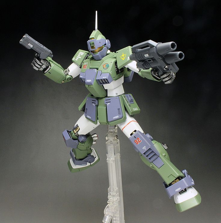 [WORK REVIEW] MG 1/100 RGN-79SC GM SNIPER CUSTOM [MS Gundam MSV Series] painted build http://www.gunjap.net/site/?p=328861